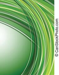 רקע, מופשט ירוק