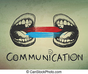 רקע., קונצפטואלי, תקשורת, תקציר