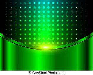 רקע, תקציר, ירוק