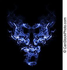 שד, עשן