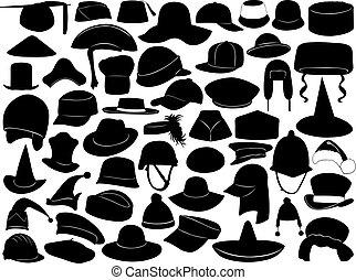 שונה, סוגים, כובעים