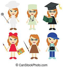 שונה, ששה, ילדות, מקצועות