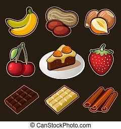 שוקולד, קבע, איקונים