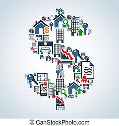 שוק של תכונה, השקעה, עסק