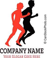 שותף, לרוץ, לוגו