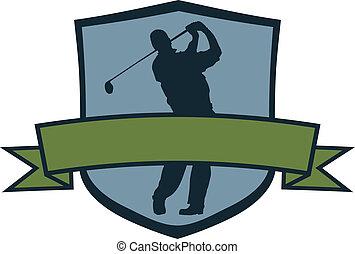 שחקן, גולף, ציצה