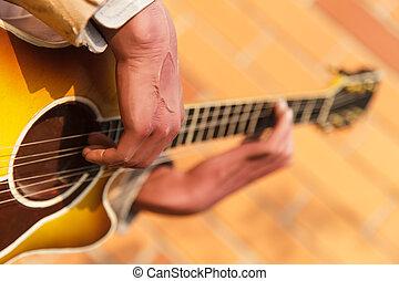 שחקן, גיטרה