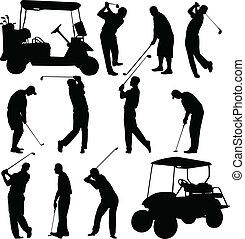 שחקני גולף, אוסף