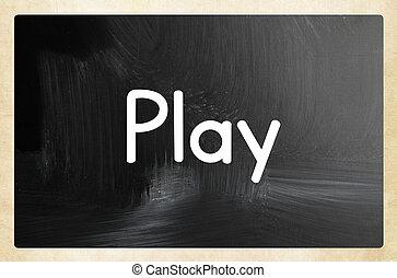 שחק, מושג