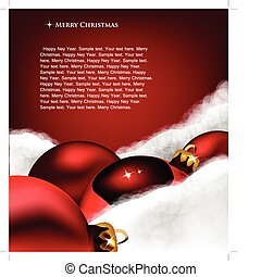 שחק, card., דש, חג המולד, צמר, חג המולד, כותנה