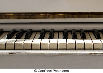 שחק, pianoforte, הופעה, concept., לבן, מוסיקלי, גדול, כלי, instrument., piano., כלי, למד, חזית, keyboard., home., פסנתר, הבט