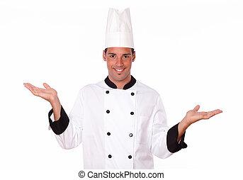 שלו, , טבח, היספני, להחזיק ידיים, יפה