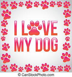 שלי, אהוב, כלב