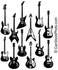 שנים עשר, גיטרות חשמליות
