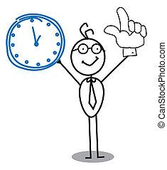 שעון, איש עסקים