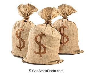 שקיות של כסף