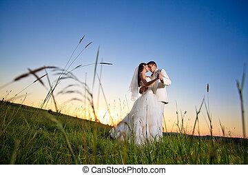 שקיעה, חתונה