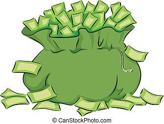 שקית, כסף