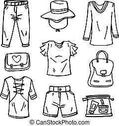 שרבט, סיגנון, קבע, ילדה, בגדים