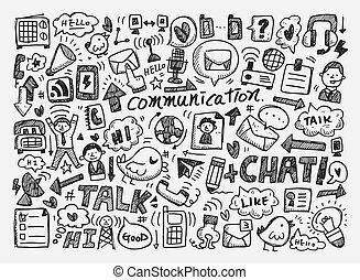 שרבט, רקע, תקשורת