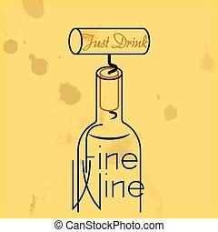 שתה, קנס, יין