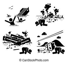 תאונה, אסון, טרגדיה