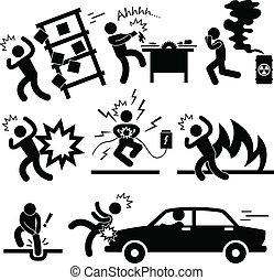 תאונה, התפוצצות, סכן, סכנה
