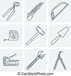 תאר, דיר, אפור, י.כ., כלים, דגמן מחדש