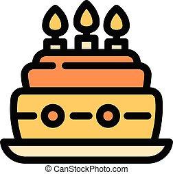 תאר, סיגנון, עוגה, איקון, מפלגה של יום ההולדת