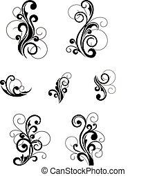 תבניות פרחוניות