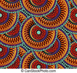 תבנית, גיאומטרי, seamless, אפריקני