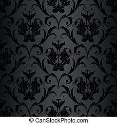 תבנית, טפט, שחור, seamless