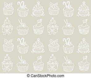 תבנית, עוגה