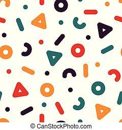 תבנית, צבעוני, עצב, 90s, seamless, -, יצירתי, ממפיס, סיגנון, 80s, *עכשיוי, רקע.
