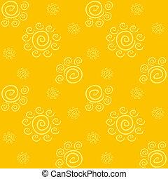 תבנית, צהוב, סולרי