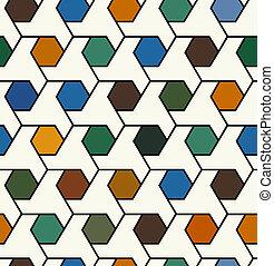 תבנית, seamless, גיאומטרי