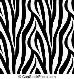 תבנית, seamless, הדפס, zebra, בעל חיים, רעף