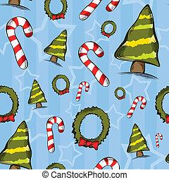 תבנית, seamless, חג המולד