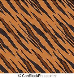 תבנית, seamless, נמר מדפיס, בעל חיים, רעף