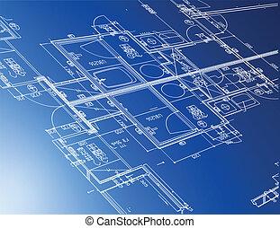 תוכניות, אדריכלי, דגום
