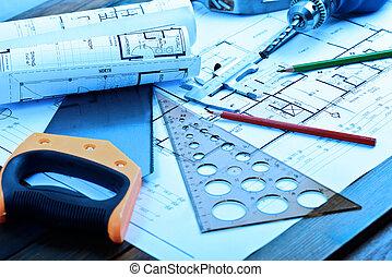 תוכניות, התגלגל, אדריכלי