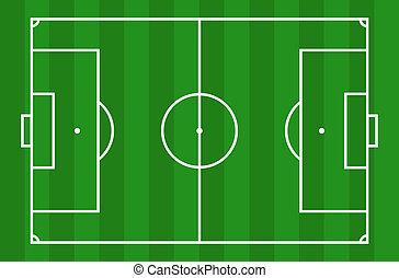 תחום, כדורגל