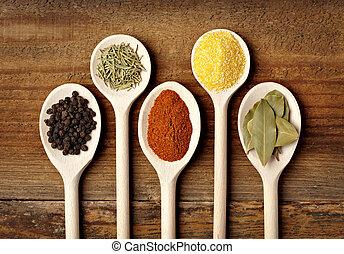תיבול, אוכל, רקח, מרכיבים