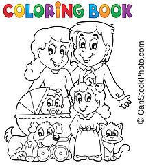 תימה, לצבוע ספר, משפחה