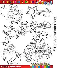 תימות, לצבוע, ציור היתולי, חג המולד