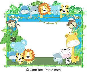 תינוק, הסגר, וקטור, בעלי חיים