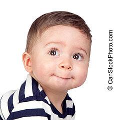 תינוק יפה, עיניים, נחמד