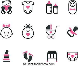 תינוק, icons.