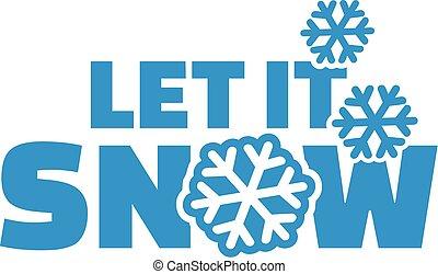 תן, זה, השלג