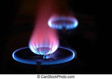 תנורים, 2, להבות